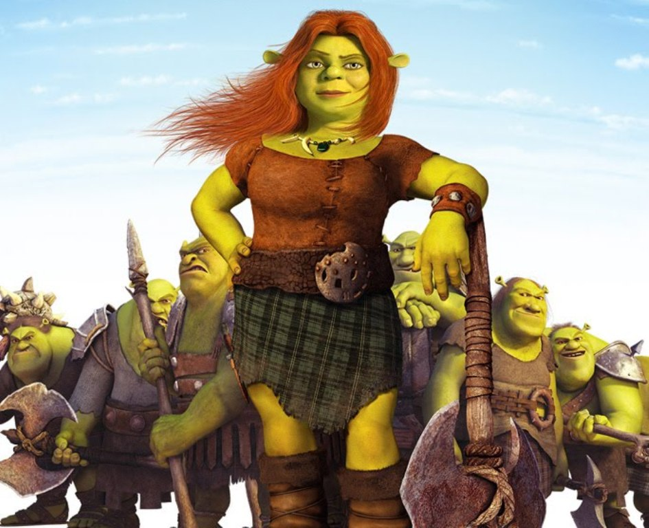 Shrek-forever-after-shrek-4-Shrek 4 il etait une fin fiona et la horde des ogres